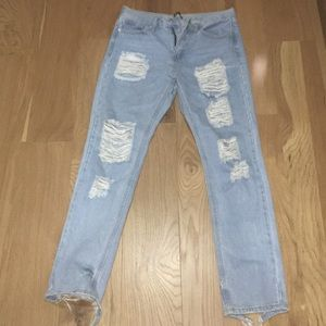 Brandy Melville ripped jeans